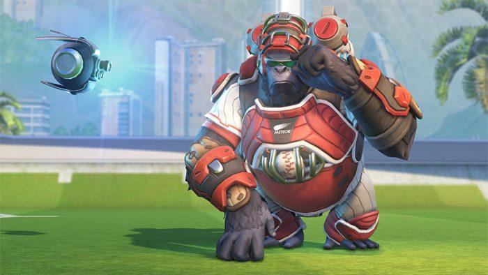 gorilla di overwatch di blizzard